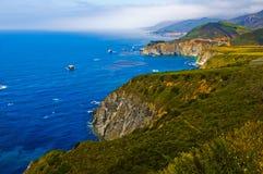 wybrzeże kaliforni Fotografia Stock