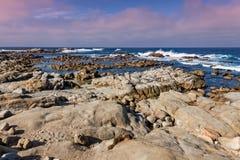 wybrzeże kaliforni sceniczny Obrazy Royalty Free