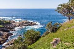 wybrzeże kaliforni sceniczny Fotografia Royalty Free