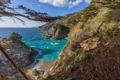 wybrzeże kaliforni sceniczny Fotografia Stock