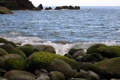 Wybrzeże kamienie Obraz Royalty Free