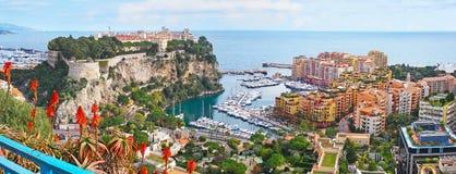 Wybrzeże Monaco Obrazy Stock