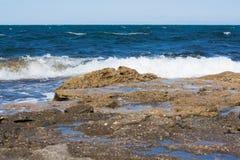 wybrzeże morza Fotografia Royalty Free