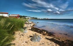 Wybrzeże Norweska wyspa Fotografia Stock