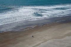 Wybrzeże Pacyficzny ocean, Kalifornia obrazy stock