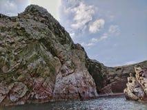 Wybrzeże Paracas Peru Fotografia Royalty Free