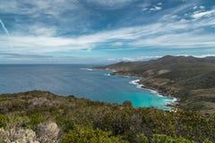 Wybrzeże pustyni des Agriates w Corsica Obraz Royalty Free