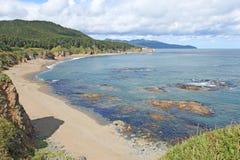 Wybrzeże Sakhalin Wyspa Obrazy Royalty Free