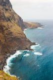 Wybrzeże Tenerife, wyspy kanaryjska, Hiszpania Zdjęcia Stock