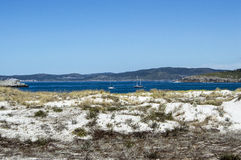 Wybrzeże w Galicia Obraz Stock