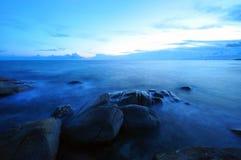 Wybrzeże w Rayong, Tajlandia Zdjęcia Stock