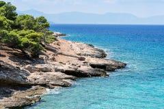 Wybrzeże wyspa Zdjęcie Royalty Free