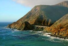 wybrzeża Kalifornii big sur Obrazy Stock