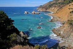 wybrzeża Kalifornii big sur Obraz Royalty Free
