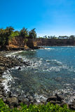 Wybrzeże wzdłuż Dużej wyspy, Hawaje Zdjęcia Royalty Free