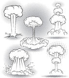Wybuchów bąble Royalty Ilustracja