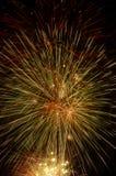 wybuchów fajerwerki Zdjęcie Royalty Free