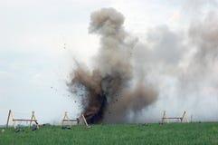 wybuch Zdjęcie Stock
