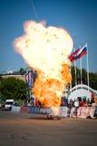 wybuch benzyna Obrazy Royalty Free