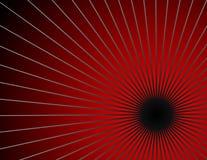 wybuch czerwony Zdjęcie Royalty Free