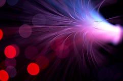 wybuch fioletowego belki Fotografia Stock