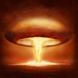 Wybuch jądrowa bomba royalty ilustracja