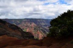 Wybuch kolor swój Waimea jar w Kauai Hawaje Zdjęcia Stock