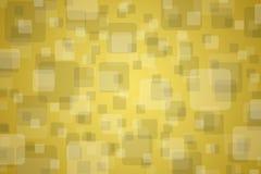 Wybuch kwadraty na złotym tle royalty ilustracja