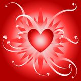 wybuch miłości royalty ilustracja