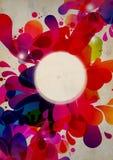wybuchu abstrakcjonistyczny kolor Zdjęcia Royalty Free