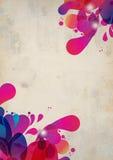 wybuchu abstrakcjonistyczny kolor Fotografia Royalty Free