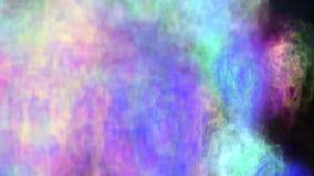 Wybuchu abstrakcjonistyczny kolor chmury ilustracja wektor