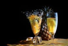 Wybuchu ananas Obraz Royalty Free