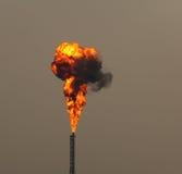 wybuchu ogień Obrazy Royalty Free