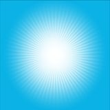 Wybuchu wektorowy błękitny abstrakt Zdjęcie Royalty Free