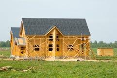 wybudować dom. Zdjęcia Stock