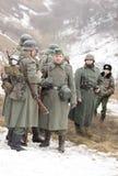 Wybujali Niemieccy fascist żołnierze Obraz Royalty Free