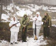 Wybujali rosjanów szpiedzy Zdjęcia Stock