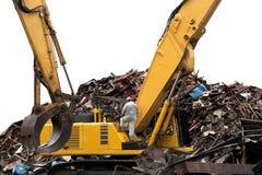 wyburzająca budynek budowa Zdjęcie Stock