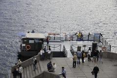 Wycieczek turysycznych łodzie Fotografia Stock