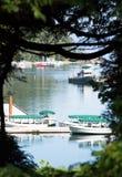 Wycieczek turysycznych łodzie Fotografia Royalty Free
