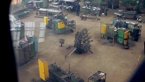 Wycieczka fabryczny żuraw zdjęcie wideo