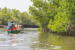Wycieczka na rzece Zdjęcia Stock