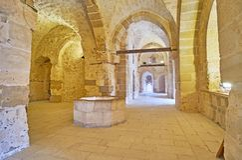 Wycieczka Qaitbay kasztel, Aleksandria, Egipt obrazy stock