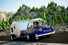 wycieczka samochodowa Zdjęcie Stock
