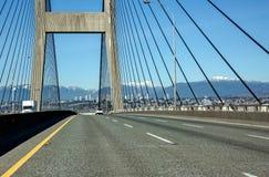 Wycieczka samochodowa przez most Obraz Stock