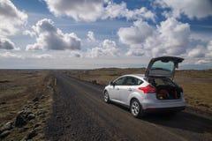 Wycieczka samochodowa w Iceland Obraz Royalty Free