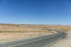 Wycieczka samochodowa w Maroko i Wysokich atlant górach zdjęcia royalty free