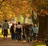 wycieczka szkolna Fotografia Stock