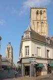Wycieczka turysyczna Charlemagne l'Horloge i De tours Francja Zdjęcia Royalty Free